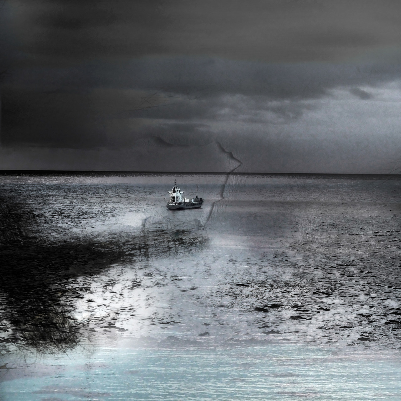Francis Jolly, Sans titre, série Mer